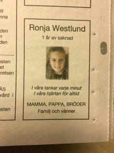 Annons i Borås tidning